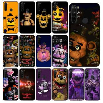 YNDFCNB five nights at freddy's fnaf freddy Phone Case for Xiaomi Redmi 5 5Plus 6 6A 4X 7 8 Note 5 5A 7 8 8Pro image
