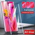 99D Screen Protector Für Huawei P20 Lite Gehärtetem Glas P30 Pro P40 Mate 10 P Smart 2019 Ehre 8X 20 30 Pro Plus Gelee Kleber Film