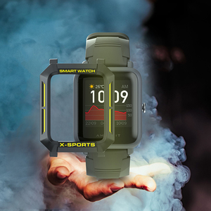 Image 5 - For Amazfit Bip Case Smart Watch protector for Xiaomi Tough Armor Cover for Huami Bip Lite Bip S Bumper PC TPU Shell Multicolor