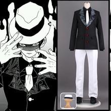 Аниме Demon Slayer: Kimetsu no Yaiba Косплей костюмы Kibutsuji Muzan Косплей Костюм Кимоно для Хэллоуина ткань лезвие демона