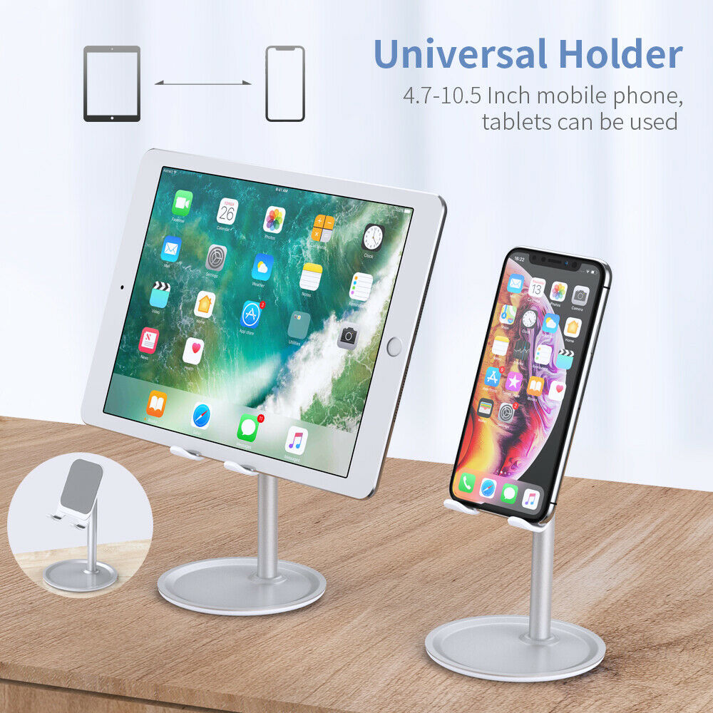 Universal Desktop Tablet Phone Holder For IPhone 11 IPad Samsung Desktop Tablet Table Stand Cell Mobile Phone Stand Mount
