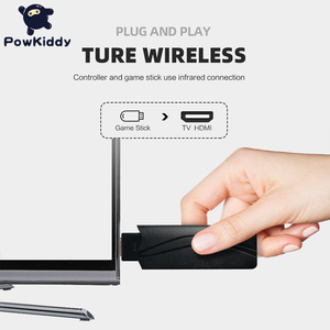 Image 2 - POWKIDDY S3 Video Game Console USB 8 Bit TV Wireless Handheld Mini Game Console Build In 628 Classic Dual Gamepad HDMI/AV Output