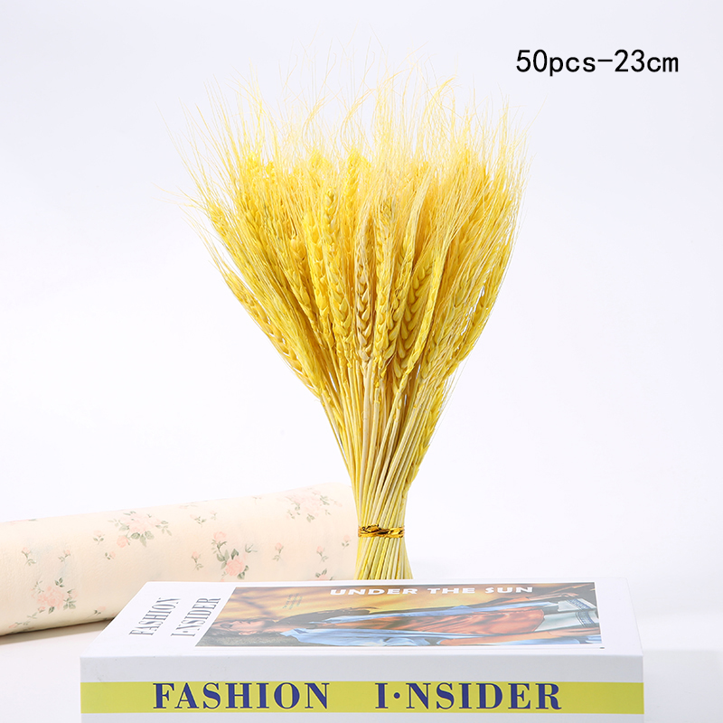 50pcs-23cm-yellow