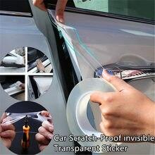 Amortecedor do carro Pintura Película Protetora Da Superfície do Zero Prevenção Corpo Transparente Faixa Para Carros Auto Adesivos Pintura