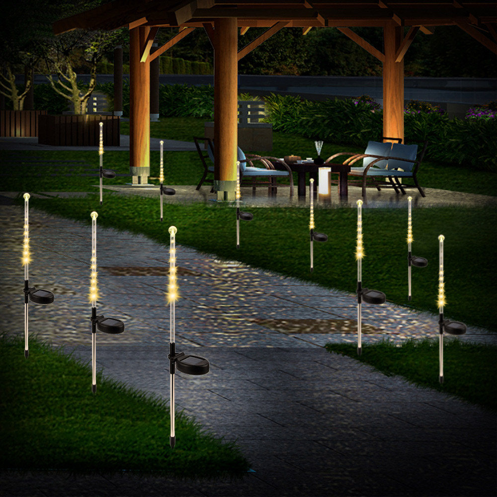 Stainless Steel Led Solar Lawn Lamp