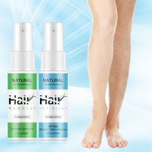 Hair Removal Inhibitor Spray Essence Painless Beard Legs Fac