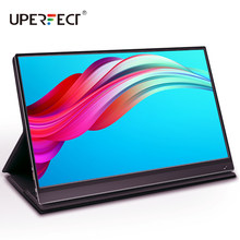 UPERFECT 15,6 zoll USB C HDMI 1920*1080P PD HDR Touch Screen-Monitor mit 10800mAh Batterie Ultradünne tragbare Gaming Display