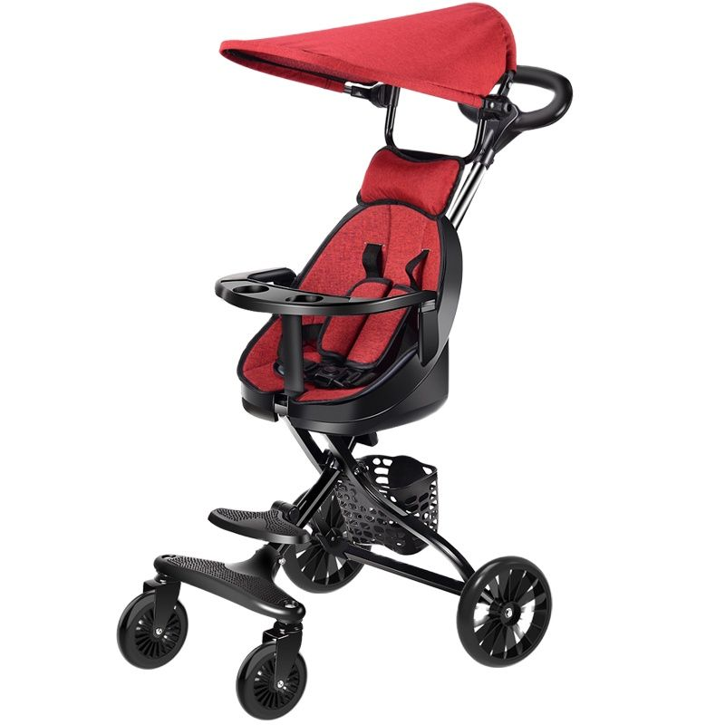 Children's Tricycle Baby Pram Two-way Implementation Baby stroller Ultra-light travel umbrella carts can on be plane