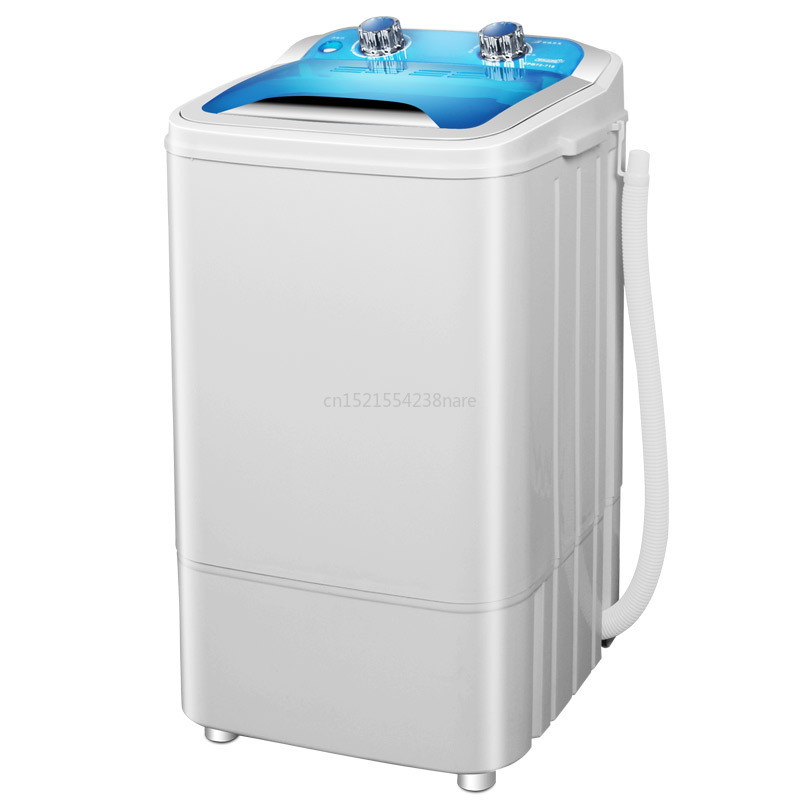 Cheap Mini UV Antibacterial Electric Clothes Washing Machine Single Tub Semi-automatic Compact With Copper Motor