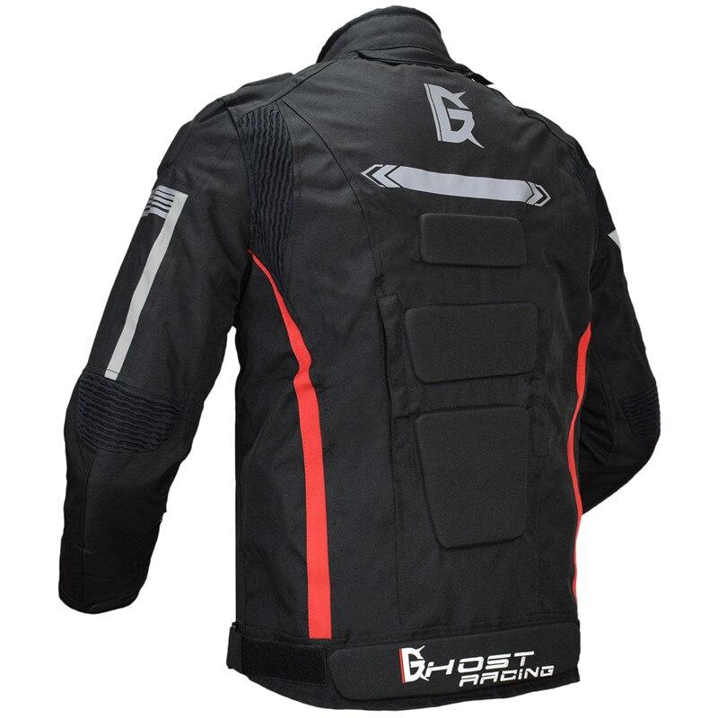 Moto veste hommes imperméable coupe vent corps complet de protection automne hiver équitation course moto veste vêtements 128 - 2
