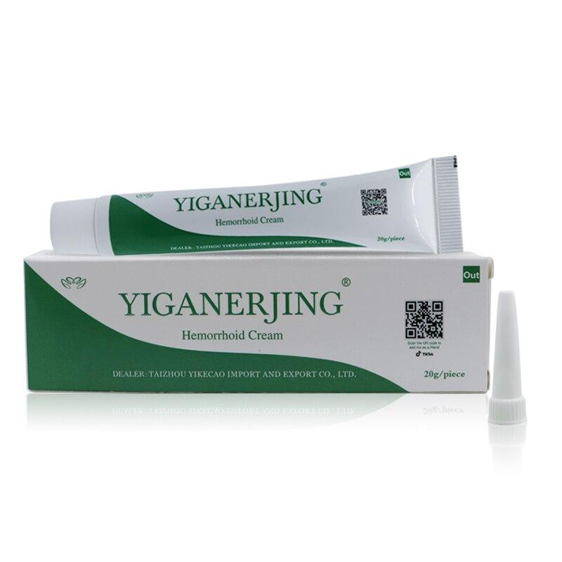 Yiganerjing Hemorrhoids Ointment Plant Herbal Materials Powerful Hemorrhoids Cream Internal Hemorrhoids Piles External Anal