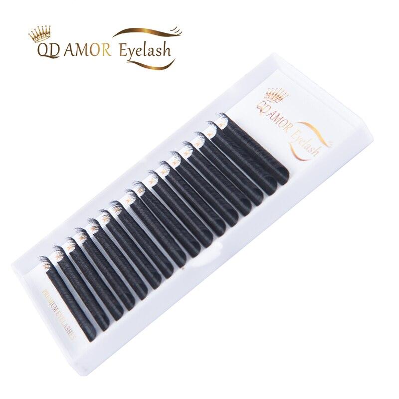 QD AMOR 16Rows Thickness 0.03 To 0.20 Faux Mink Eyelashes Individual Eyelash Lashes Soft Eyelash Extension False Eyelash