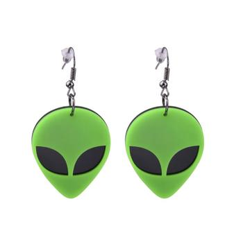 Earrings For Women Kelly Earrings Fashion Charm Exaggerated Hip Hop Girls Gift Cute Alien UFO Saucerman 2