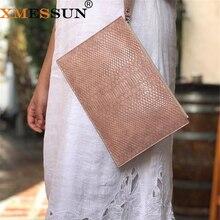 Чехол XMESSUN из крокодиловой кожи для ноутбука 11, 13, 14, 15, 15,6 дюймов, сумка для Macbook Air Pro 13,3, 15,4 дюйма, сумки в новом тренде