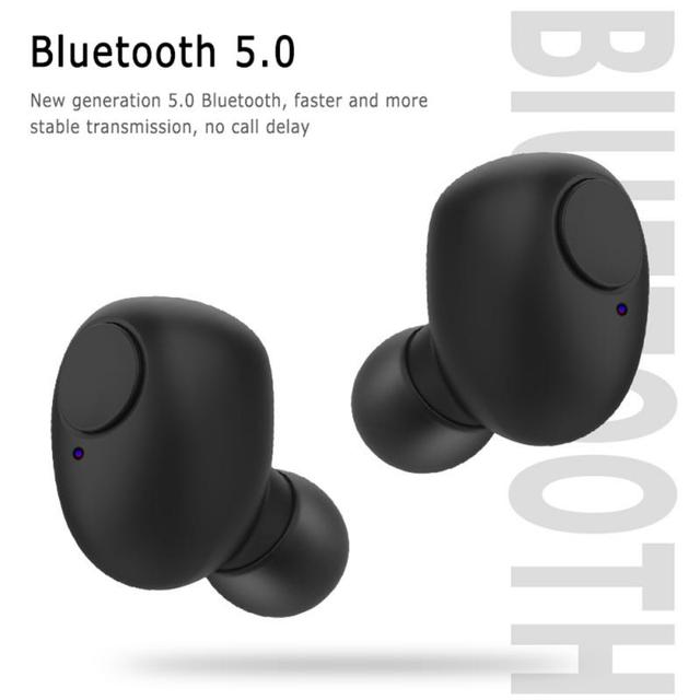 New Wireless Earphone TWS 5.0 Bluetooth Headphones HiFi Stereo Earphones Noise Canceling Sport Earbudsr With Mic Headset 3