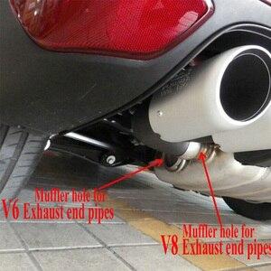 Image 2 - Terminales de escape traseros para coche Cayenne V6 V8, tubo silenciador, Estilismo, 2011, 2012, 2013, 2014