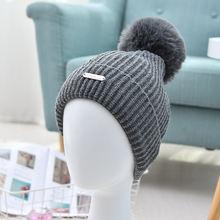 Осенне зимняя женская шерстяная светящаяся шапка в Корейском