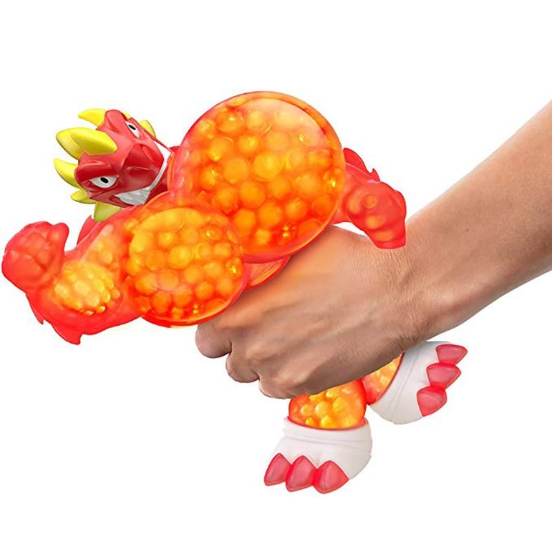 Hot GOO Jit Zu Hero Copy Soft Animal Lion Shark Crocodile Orangutan Optional Anti Stress Squeeze Doll Toys Stress Relief