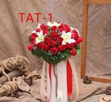 꽃을 들고 결혼식 신부 액세서리 3303 TAT