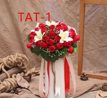 Wedding Bridal Accessoires Holding Bloemen 3303 Tat