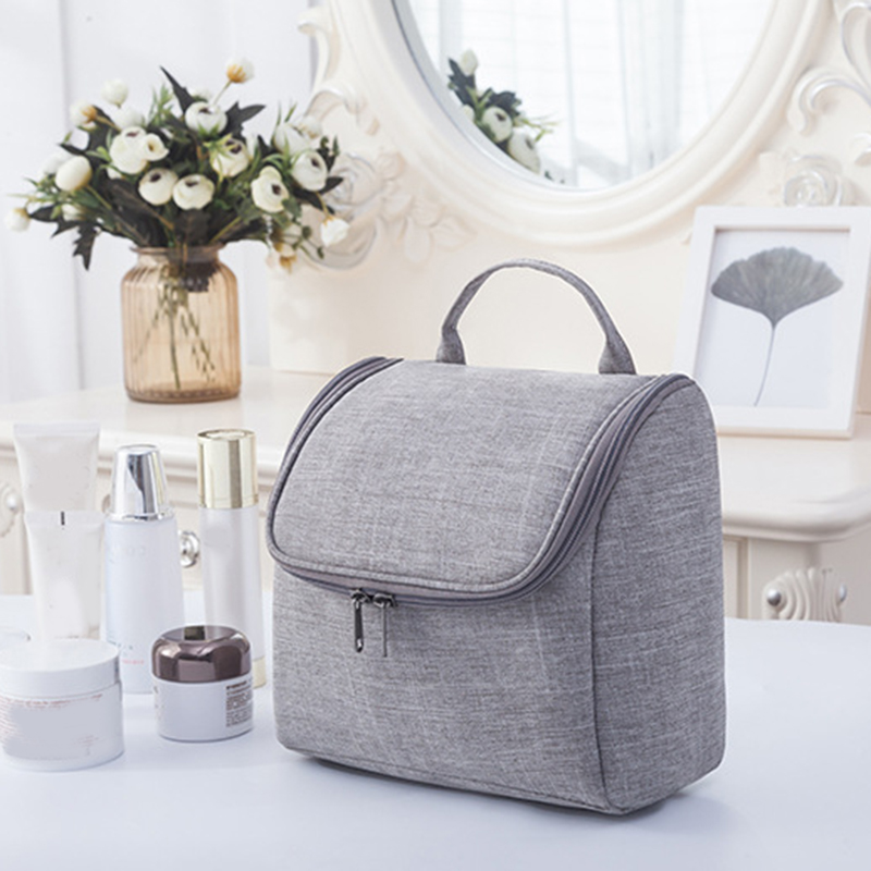 Makeup Organizer Oxford Cloth Wash Bag Hanging Cosmetic Storage Bag Waterproof Travel Bag Large Capacity