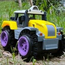 Электрический автомобиль детский игрушечный трюковый фермер