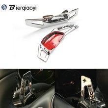 for Mercedes Benz 2015 C180L C200L C260L C class/S class CLA Shift Sticker Car Steering Wheel Paddles Gear