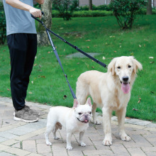цена One Drag Two Elastic Dog Rope Dog Leashes Dog Leash Dog Harness Pet Supplies Dog Stuff Dog Jogging All Seasons онлайн в 2017 году