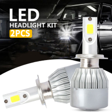 High Power Front Lamp H4/HB2/9003 DC12-24V Headlight Bulbs LED Fog Light Universal H7