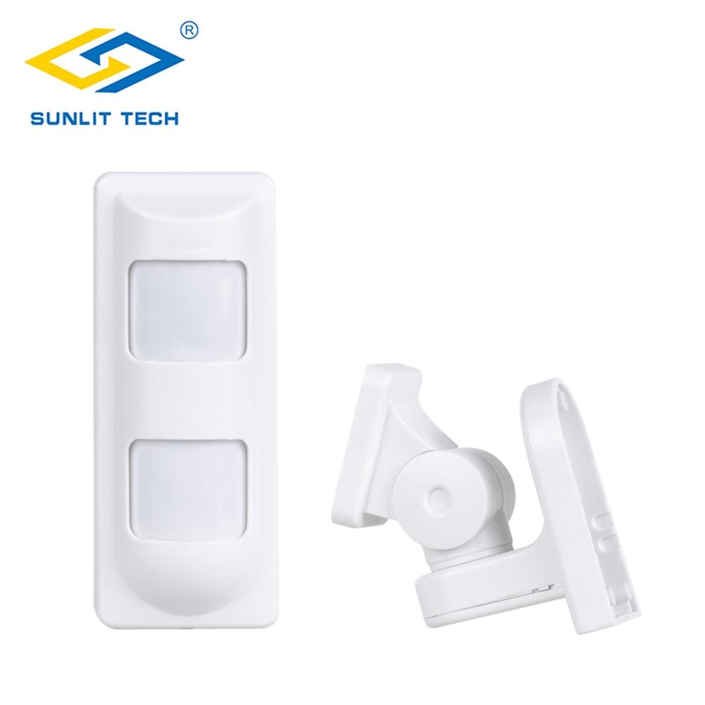 Detector de Sensor de movimiento con cable doble PIR + microondas resistente al agua para mascotas/gran angular/Sensor de cortina para una seguridad inteligente en el hogar Luz LED de noche con Sensor de movimiento PIR, lámpara LED de noche, iluminación de techo, lámparas de techo para sala de estar
