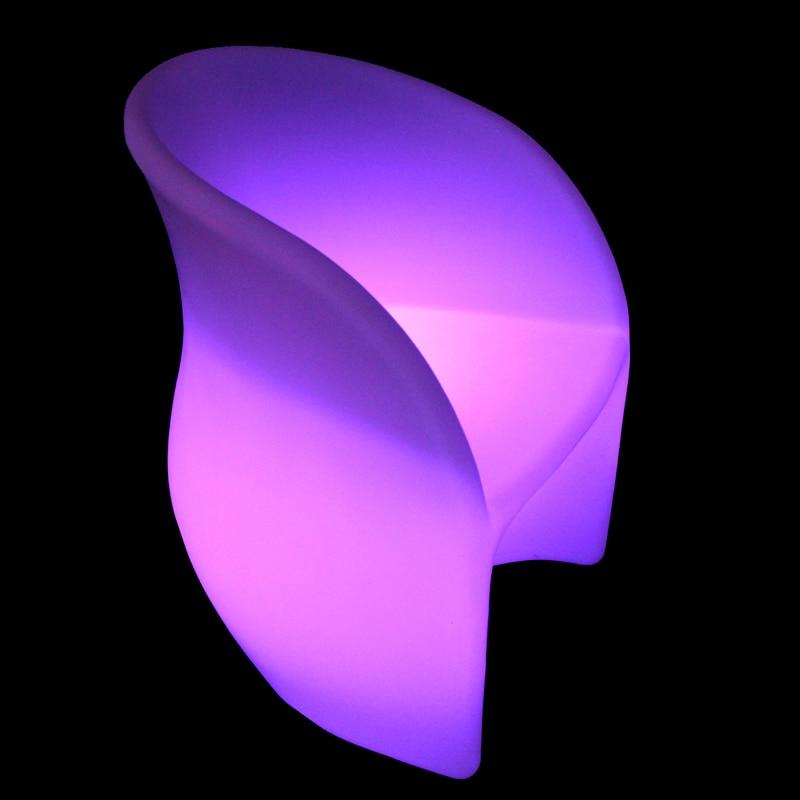 SK-LF30 L60*W58*H76cm Lumineux Led Integree Sfere E Cubi Luminose Bar Chair Stool Coffee Furniture Sfera Luminosa Factory 1pc