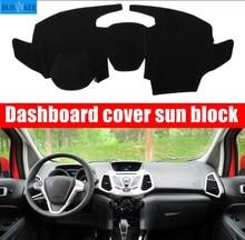 цена на Car dashboard Avoid light pad Instrument platform desk cover Mats Carpets Auto accessories for Ford Ecosport 2013 2014 2015 2016