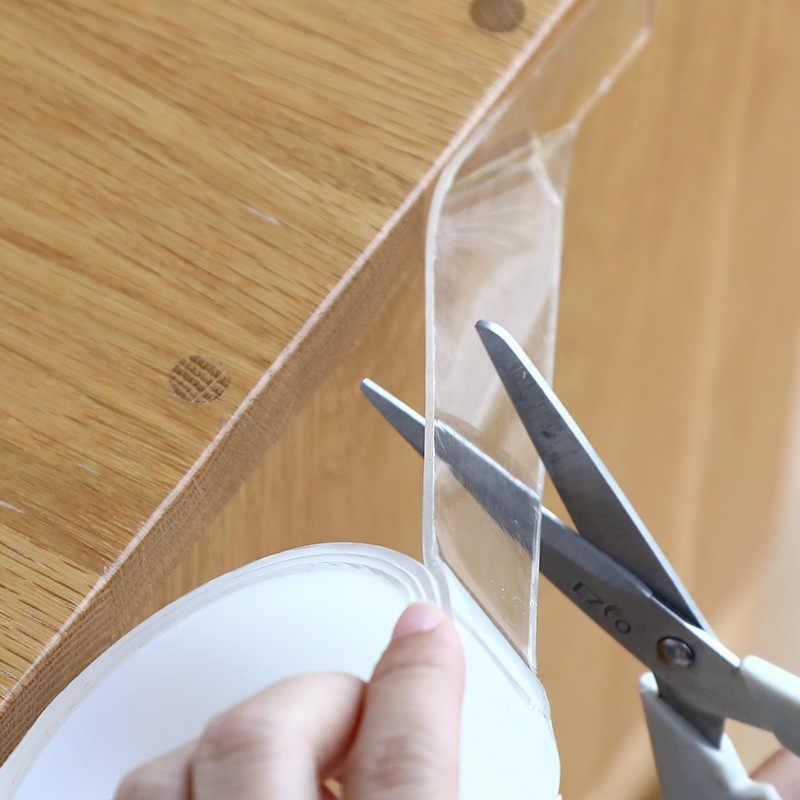 3/5M 1MM Nano Magico Nastro Doppio Nastro Biadesivo Trasparente Nessuna Traccia Riutilizzo Acrilico Nastro Adesivo Impermeabile lavabile