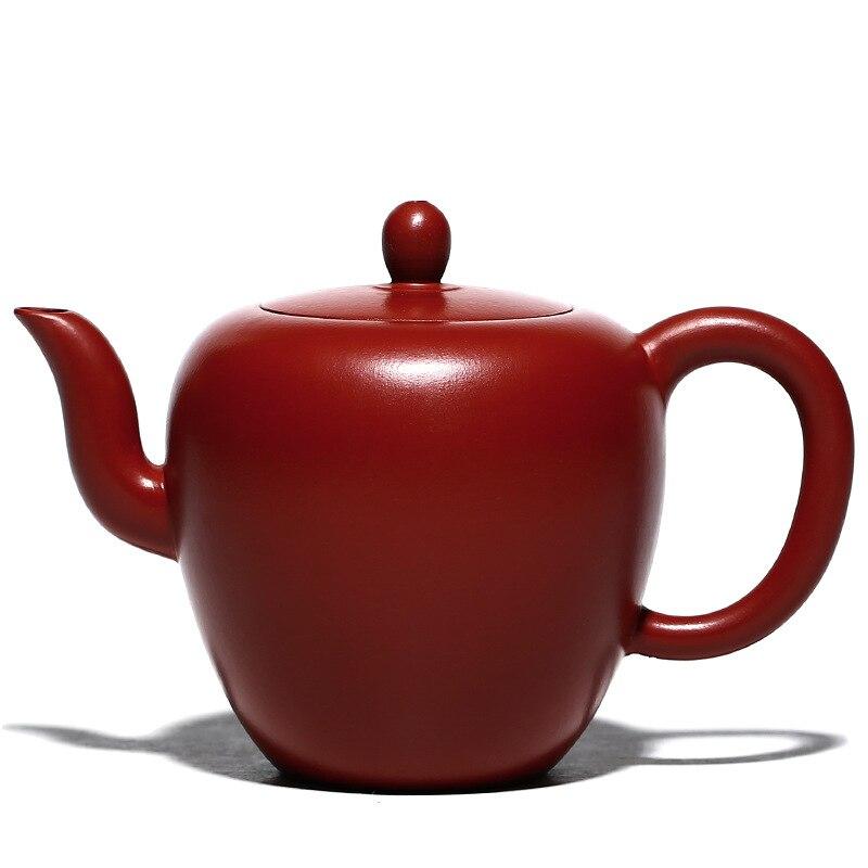 Исин фиолетовая глина для китайского чая кунг фу горшки большой красный мешок грязи красота плеча чайник