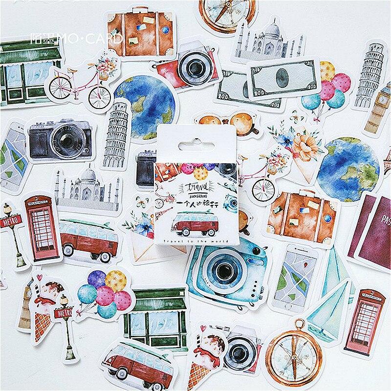 1 шт. новый симпатичный персональный дорожный стикер для канцелярских товаров, декоративный клей, креативные наклейки для скрапбукинга, дне...