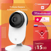YI Home Camera 3 1080P Full HD Smart Camera Home Security Wireless cctv cam Night Vision EU Edition Android YI Cloud