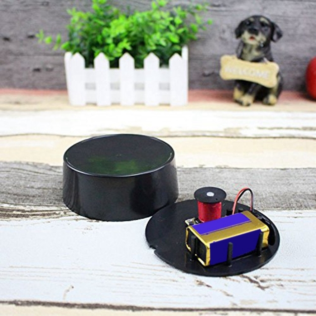 Hot Spinning Top Electronic Perpetual Motion Rotating Magnetic Gyro Decoration Inception Gyro Desktop Toys Gifts