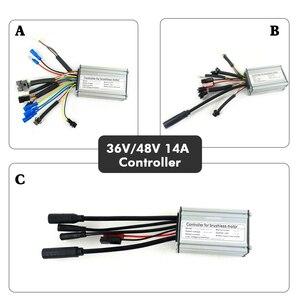 Image 2 - BOLLFIT KT 36V 48V 14A 22A Controller 250W 500W Motor Elektrische Bike Conversion Zubehör mit LCD 4 Display