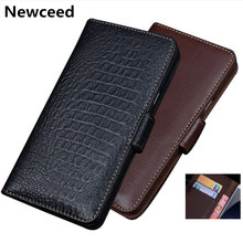 Genuine Leather Business Wallet Case Flip Phone Cover For Xiaomi Mi10 Pro/Xiaomi Mi10 Phone Bag Credit Card Money Slot Holder(China)