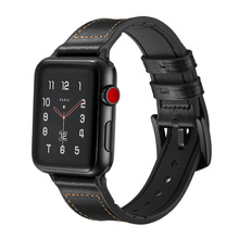 Genuine Leather strap for Apple watch band 42/38mm&for apple 4 44mm bracelet 40mm iwatch series 3 2 1