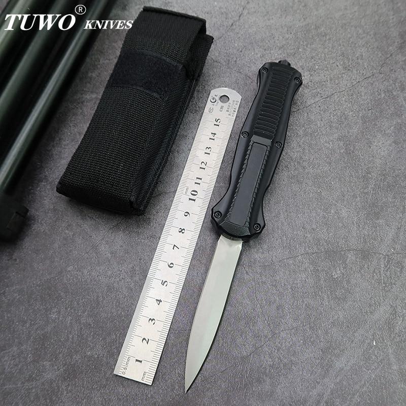 TUWO ножи микро складной карманный нож наружный D2 стальной стандартный нож для повседневного использования инструмент литая стальная ручка|Ножи| | АлиЭкспресс