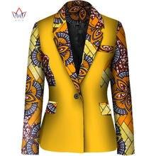 Африканские Топы для женщин дашикис африканская одежда блейзер