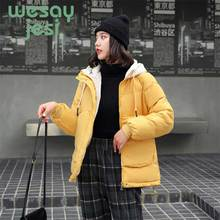 Winter women jackets Parkas 2019 Casual style Thicken warm hooded female outwear parkas jacket winter coat