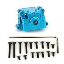 Liga de alumínio caixa de engrenagens rc atualização peças acessório para wl 1/28 k969 k989 p929 rc deriva carro acessórios reposição