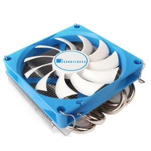Image 4 - Jonsbo HP 400 CPU Cooling Fan 4 Heat Pipes Radiator for HTPC Case All In One Computer Ultra Thin CPU Cooler