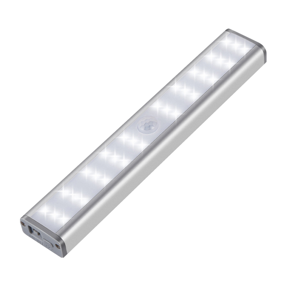 Wall Lamp Closet Stairs Strips Motion Sensor Hallway 30 LED Wireless Under Cabinet Lights Bedroom Magnetic USB Rechargeable