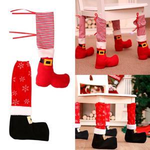 Image 5 - Kerst Schort Keuken Vrolijk Kerstfeest Decoraties Voor Huis 2019 Kerst Ornamenten Cristmas Decor Xmas Navidad Nieuwjaar 2020