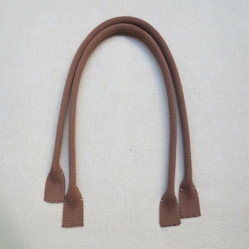 60cm Genuine Leather Canvas Bag Handle Handbag Shoulder Bag Strap Replacement