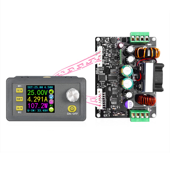 DPH3205 32V 160W 5A Power Supply Module Constant Voltage Current Step Down Programmable Buck Voltage Converter LCD Voltmeter