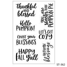 Happy holiday Clear Stamps/Seal For DIY Scrapbooking Decorative Card Making Craft Fun Decoration Supplies